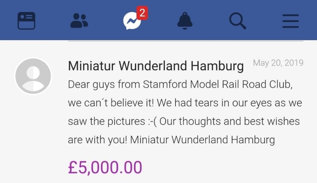 Une exposition de modelisme ferroviaire vandalisée Screen12