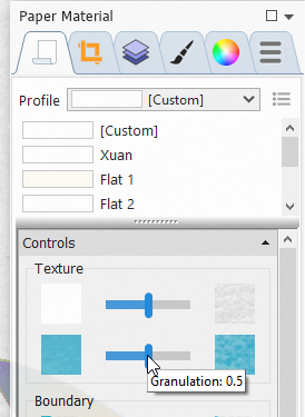 What's the difference between full texture mode or on marks only or no texture C310