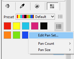 Adding a new color to a color set is laggy, and how to create a custom color swatch? And is it possible to change the paper texture? Untitl16