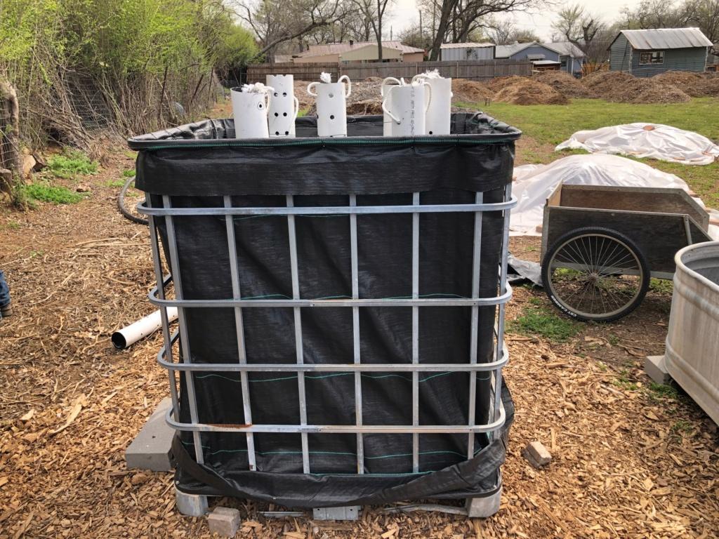 The SFG Journey-Johnson Su Bioreactor for composting, No turning Img_0412