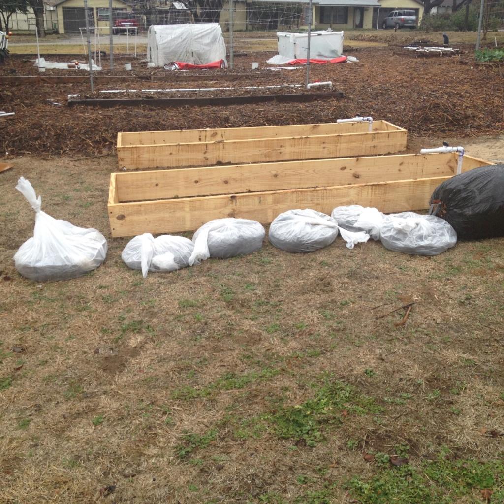 Homemade Concrete Raised Beds Img_0820