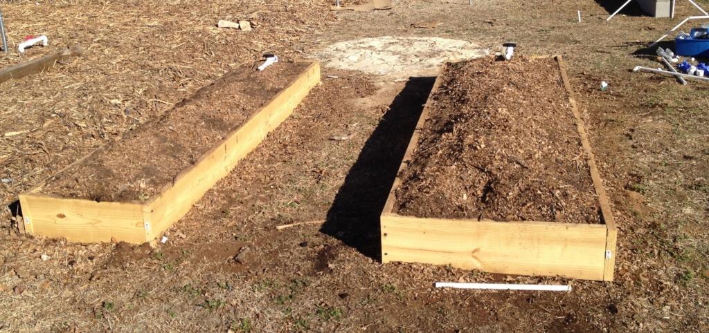 Homemade Concrete Raised Beds Img_0821