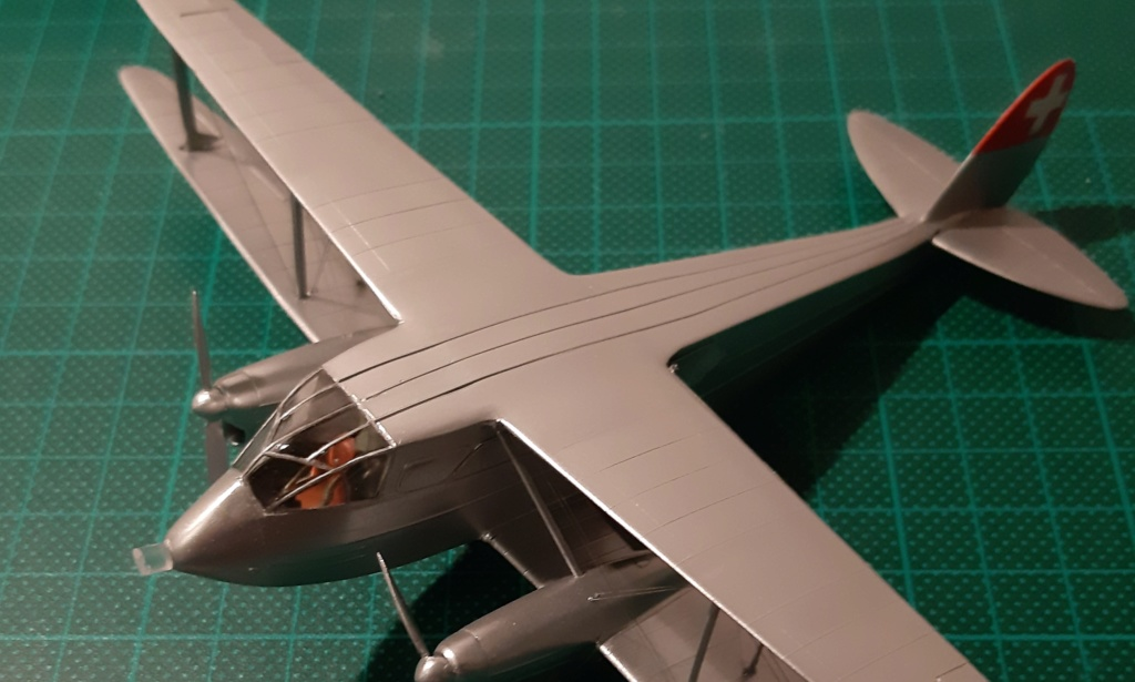 DH-89 Dragon Rapide - Swissair - Kit Heller 1/72 - Page 3 20190211