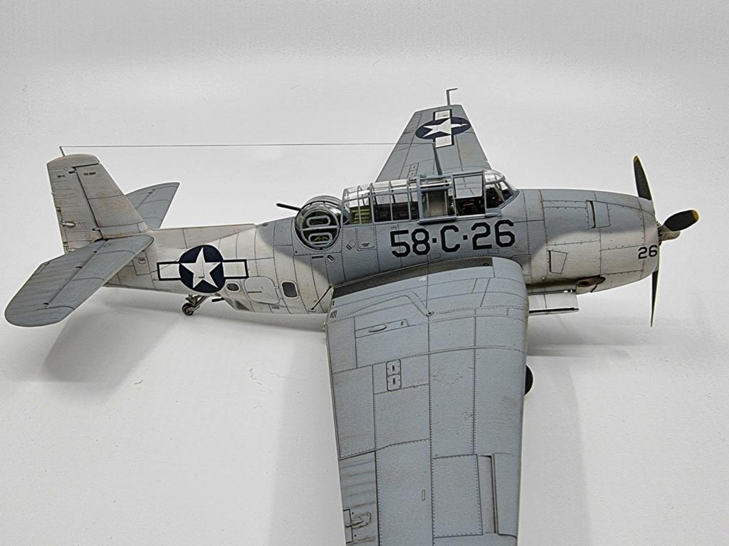 Grumman TBF 1c Avenger Italeri (accurate miniatures) 1/48 20210916