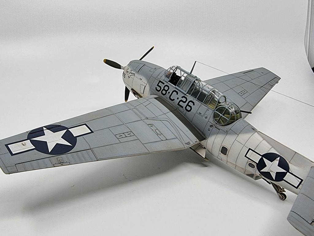 Grumman TBF 1c Avenger Italeri (accurate miniatures) 1/48 20210917