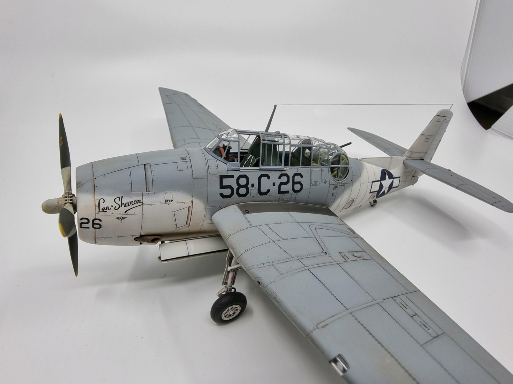 Grumman TBF 1c Avenger Italeri (accurate miniatures) 1/48 20210921