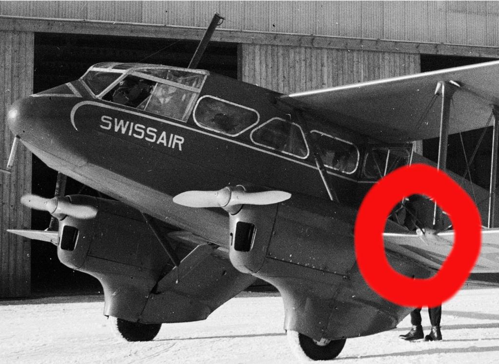 DH-89 Dragon Rapide - Swissair - Kit Heller 1/72 - Page 3 Dynamo10