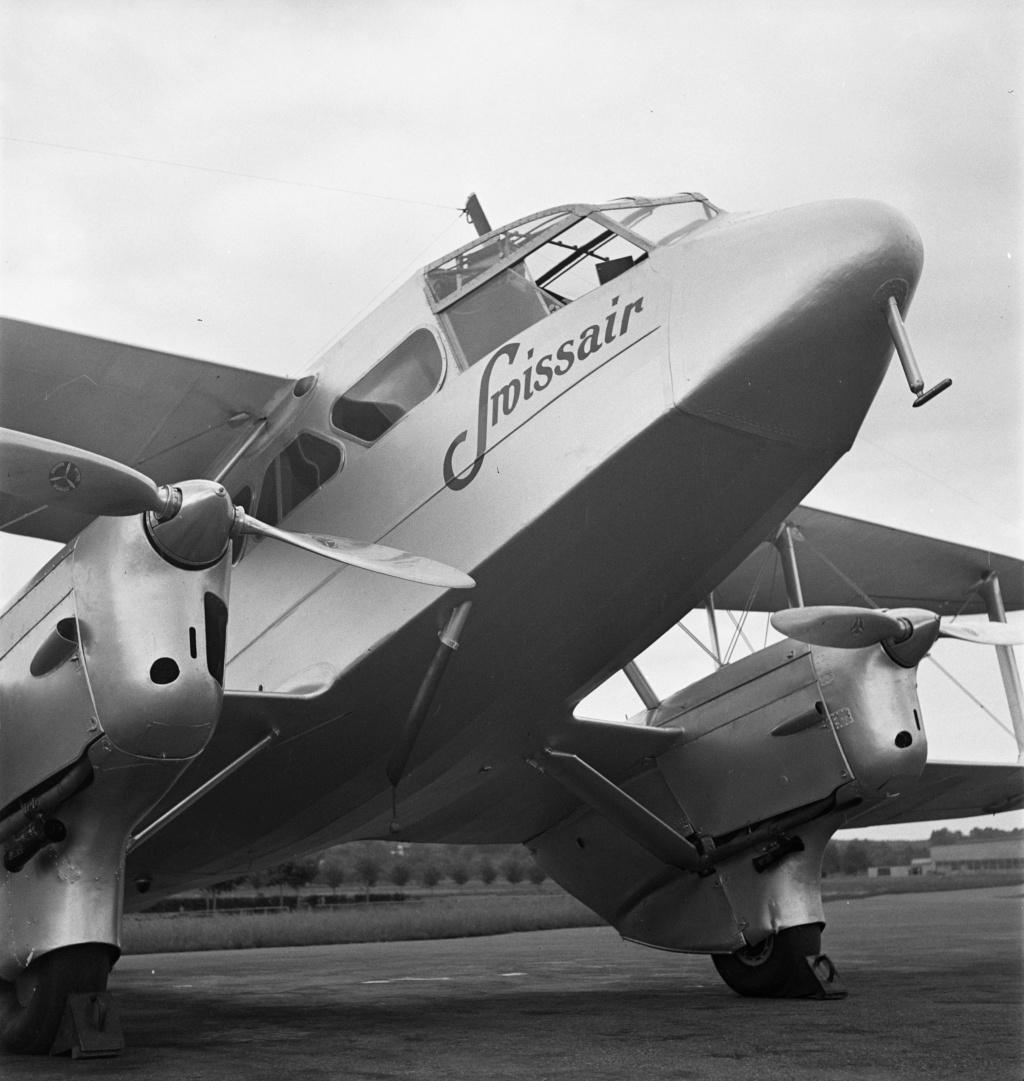 DH-89 Dragon Rapide - Swissair - Kit Heller 1/72 - Page 3 Lbs_sr28