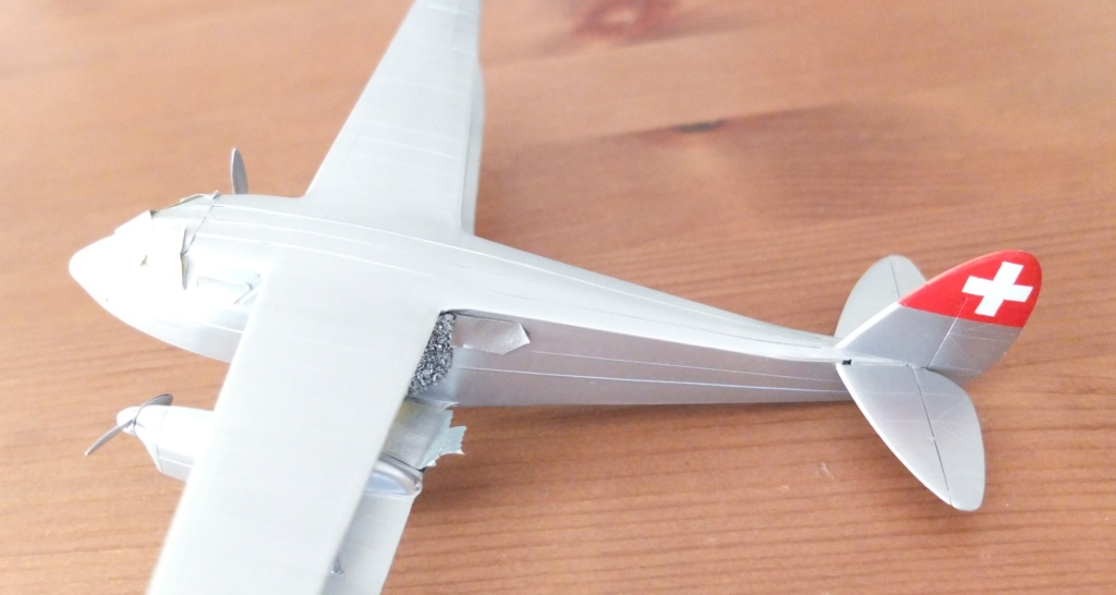 DH-89 Dragon Rapide - Swissair - Kit Heller 1/72 - Page 3 S0091412