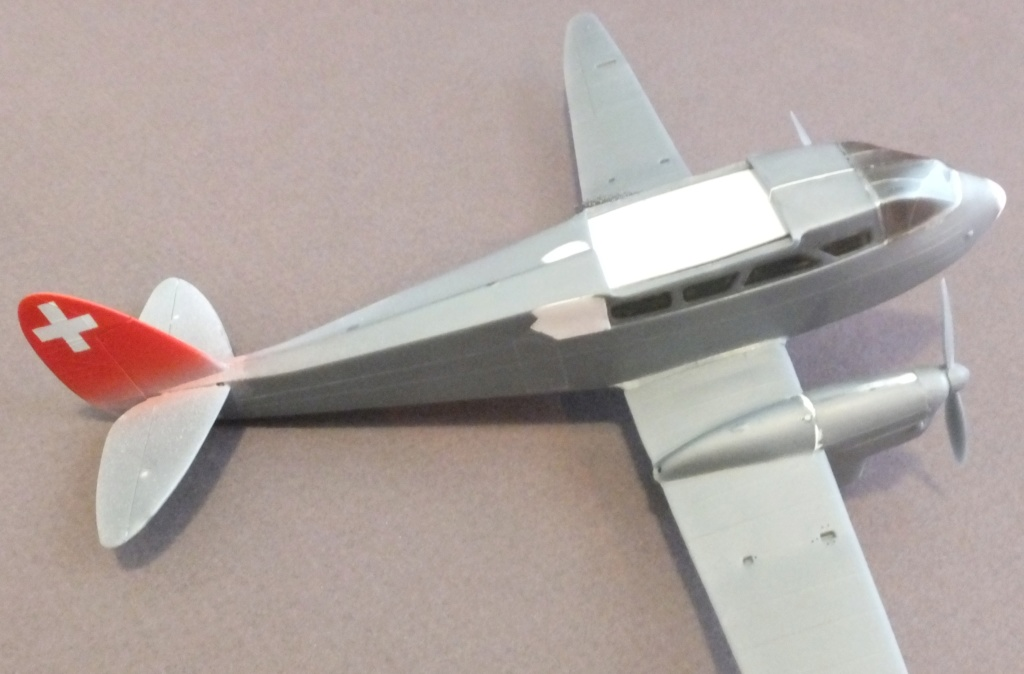 DH-89 Dragon Rapide - Swissair - Kit Heller 1/72 - Page 3 S0121312