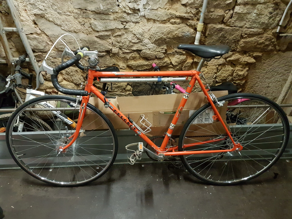 Mon Peugeot orange !  20190212