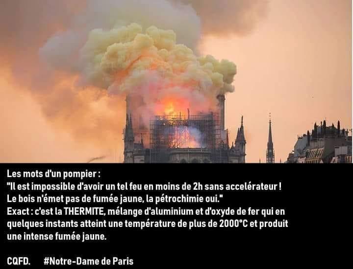 L'incendie de la Cathédrale Notre Dame de Paris Théorie du complot MAIS à qui profite le crime...... Ct_pom10
