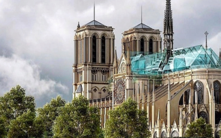 L'incendie de la Cathédrale Notre Dame de Paris Théorie du complot MAIS à qui profite le crime...... Projet11