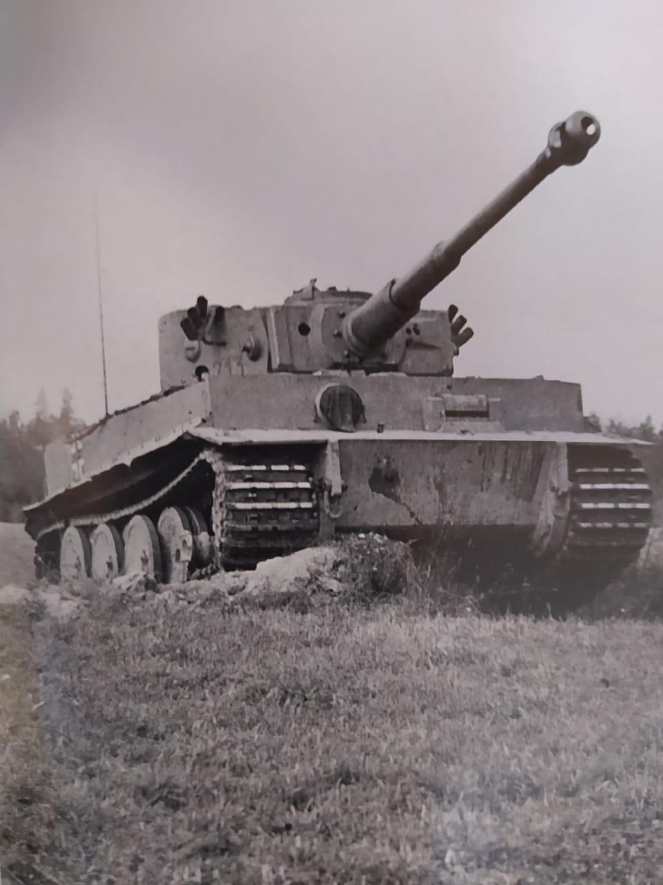 MT: TIGER I , Otto Carius, Batallon 502 , 1943. Tamiya 1/35 35d3bb10