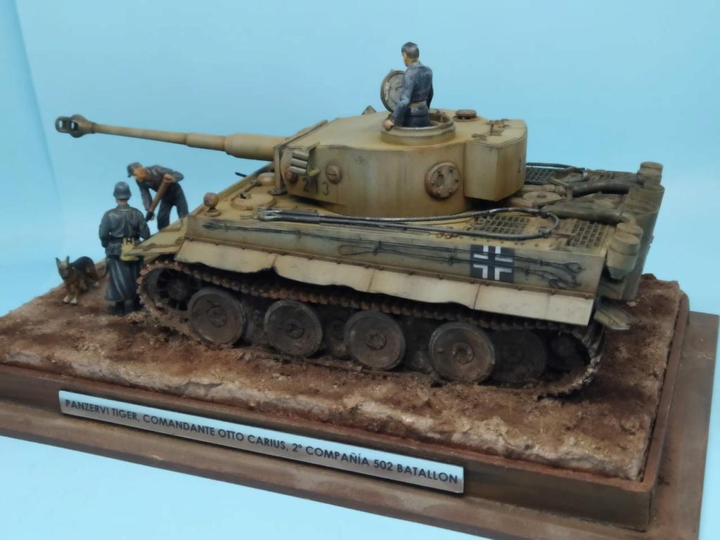 MT: TIGER I , Otto Carius, Batallon 502 , 1943. Tamiya 1/35 7968ec10