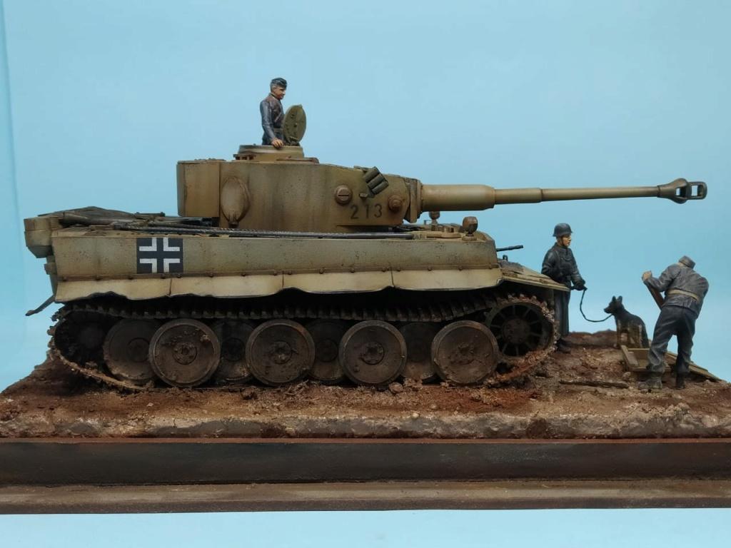 MT: TIGER I , Otto Carius, Batallon 502 , 1943. Tamiya 1/35 Bc268810
