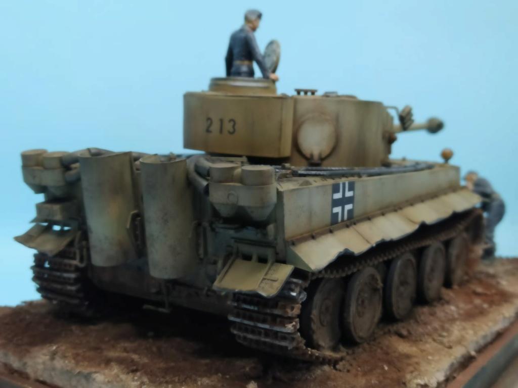 MT: TIGER I , Otto Carius, Batallon 502 , 1943. Tamiya 1/35 Ce44a110