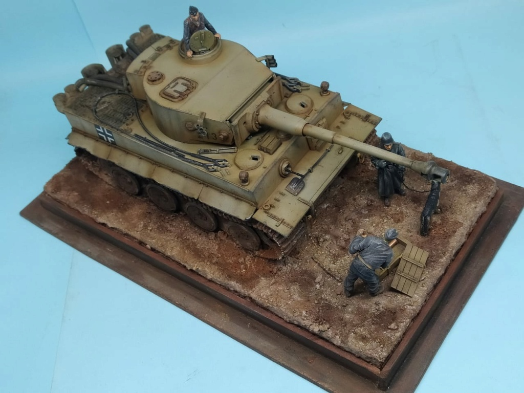 MT: TIGER I , Otto Carius, Batallon 502 , 1943. Tamiya 1/35 E3679910