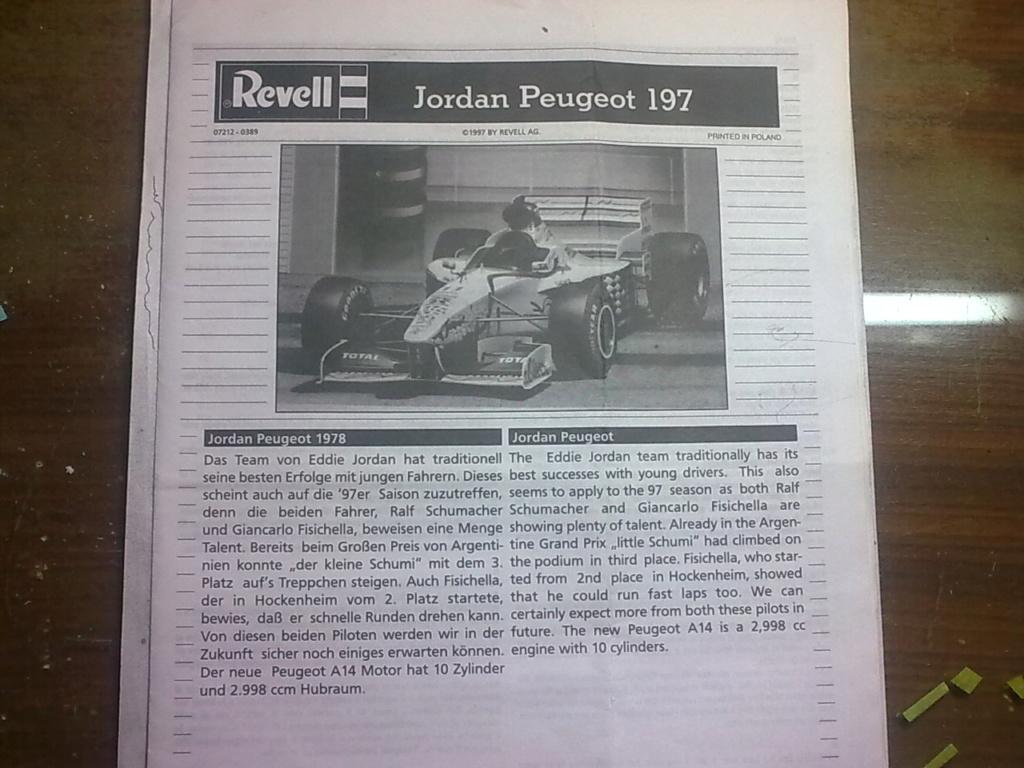 MeC: Jordan Peugeot 197 Revell AG 1/24. Image100