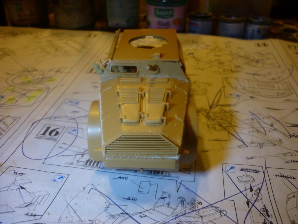 "Chasse au partisan - Yougoslavie 1943 ""Prinz Eugen"" - Autoblinda Ab 43 italeri + Sd.Kfz 7/1 2cm Flakvierling 38 +  6 personnages Alpine 1/35 - Page 4 P1090416"
