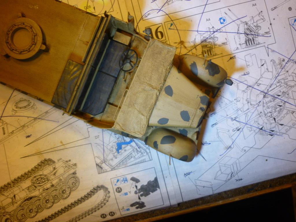 "Chasse au partisan - Yougoslavie 1943 ""Prinz Eugen"" - Autoblinda Ab 43 italeri + Sd.Kfz 7/1 2cm Flakvierling 38 +  6 personnages Alpine 1/35 - Page 4 P1090514"