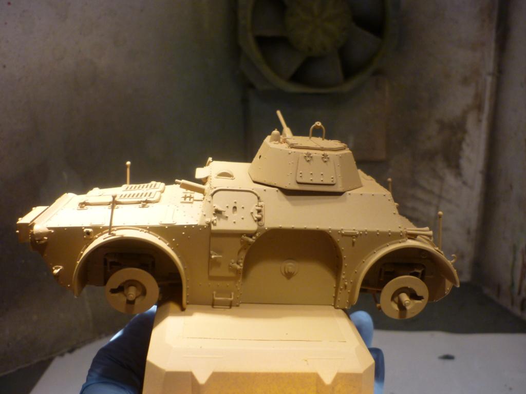 "Chasse au partisan - Yougoslavie 1943 ""Prinz Eugen"" - Autoblinda Ab 43 italeri + Sd.Kfz 7/1 2cm Flakvierling 38 +  6 personnages Alpine 1/35 - Page 5 P1090539"