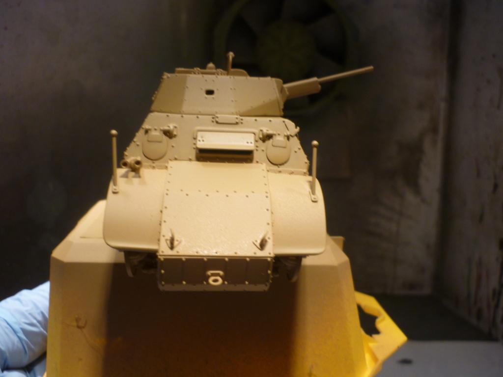 "Chasse au partisan - Yougoslavie 1943 ""Prinz Eugen"" - Autoblinda Ab 43 italeri + Sd.Kfz 7/1 2cm Flakvierling 38 +  6 personnages Alpine 1/35 - Page 5 P1090540"
