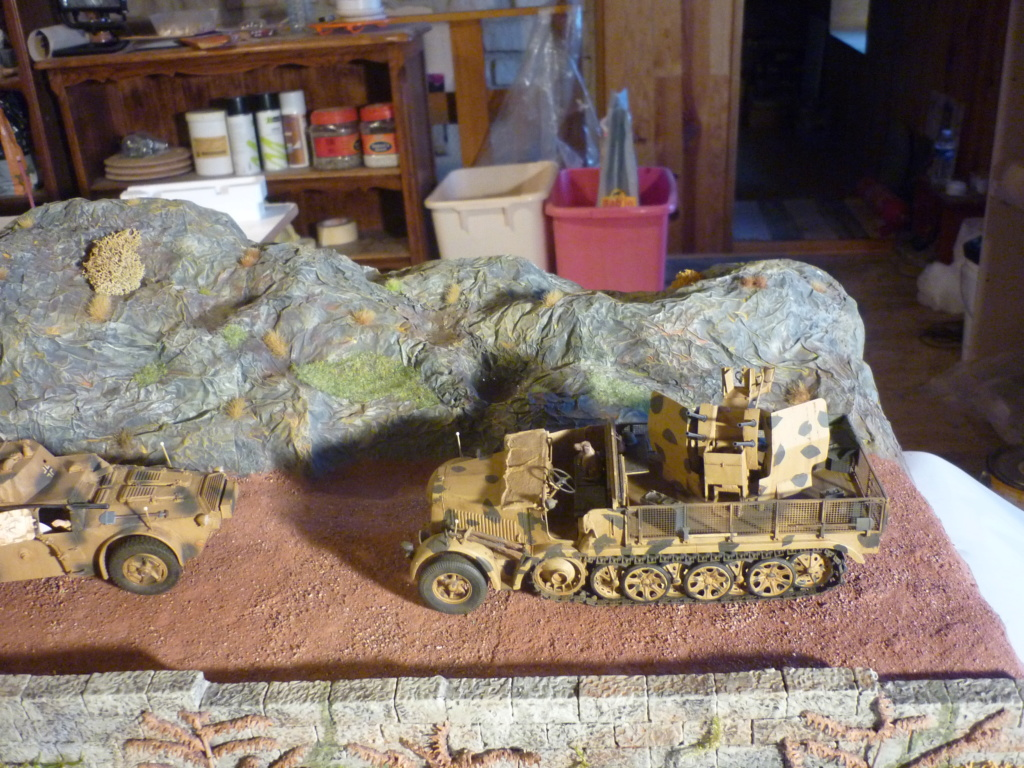"Chasse au partisan - Yougoslavie 1943 ""Prinz Eugen"" - Autoblinda Ab 43 italeri + Sd.Kfz 7/1 2cm Flakvierling 38 +  6 personnages Alpine 1/35 - Page 6 P1090811"