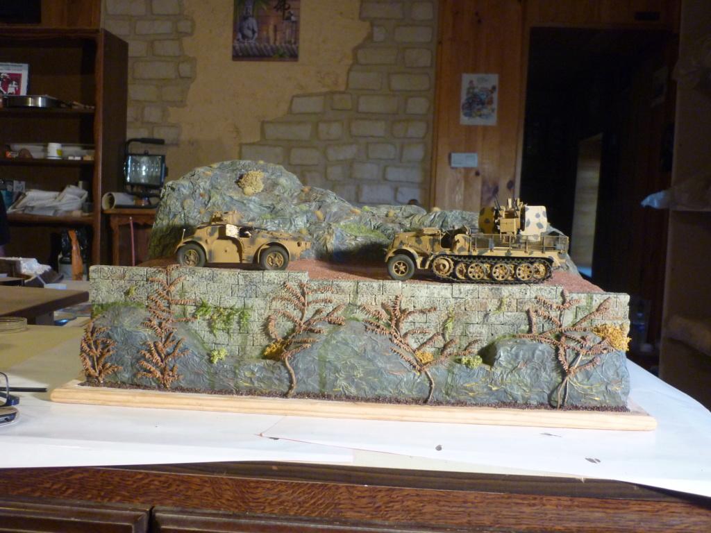 "Chasse au partisan - Yougoslavie 1943 ""Prinz Eugen"" - Autoblinda Ab 43 italeri + Sd.Kfz 7/1 2cm Flakvierling 38 +  6 personnages Alpine 1/35 - Page 6 P1090812"