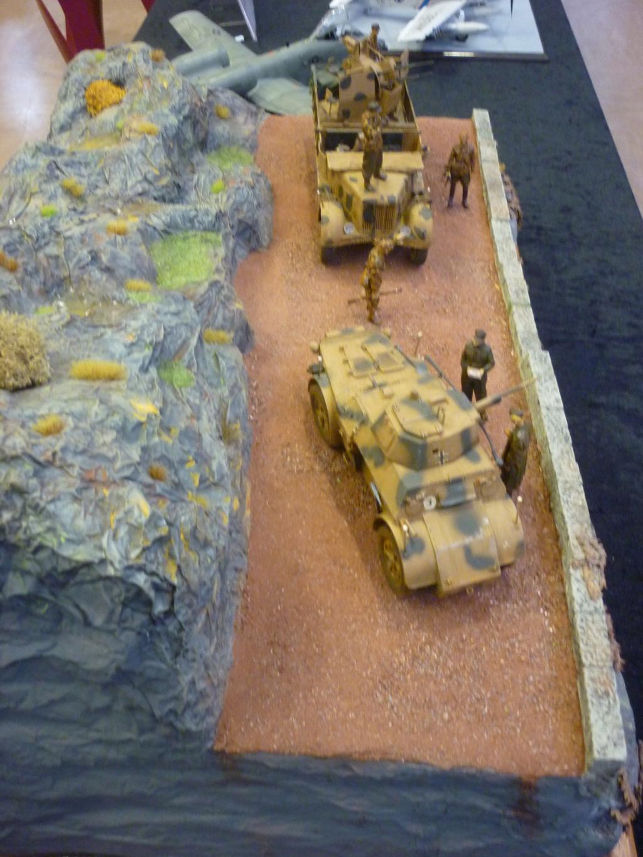 "Chasse au partisan - Yougoslavie 1943 ""Prinz Eugen"" - Autoblinda Ab 43 italeri + Sd.Kfz 7/1 2cm Flakvierling 38 +  6 personnages Alpine 1/35 - Page 7 P1100113"