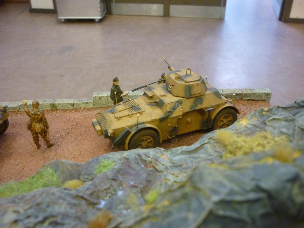 "Chasse au partisan - Yougoslavie 1943 ""Prinz Eugen"" - Autoblinda Ab 43 italeri + Sd.Kfz 7/1 2cm Flakvierling 38 +  6 personnages Alpine 1/35 - Page 7 P1100117"