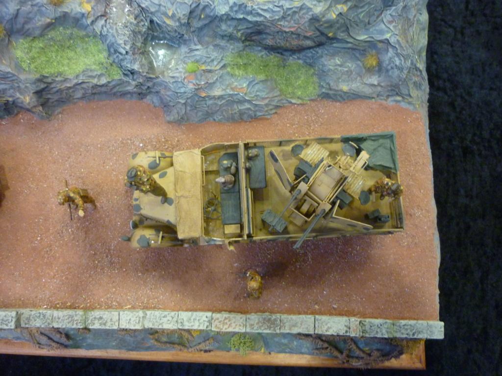 "Chasse au partisan - Yougoslavie 1943 ""Prinz Eugen"" - Autoblinda Ab 43 italeri + Sd.Kfz 7/1 2cm Flakvierling 38 +  6 personnages Alpine 1/35 - Page 7 P1100118"