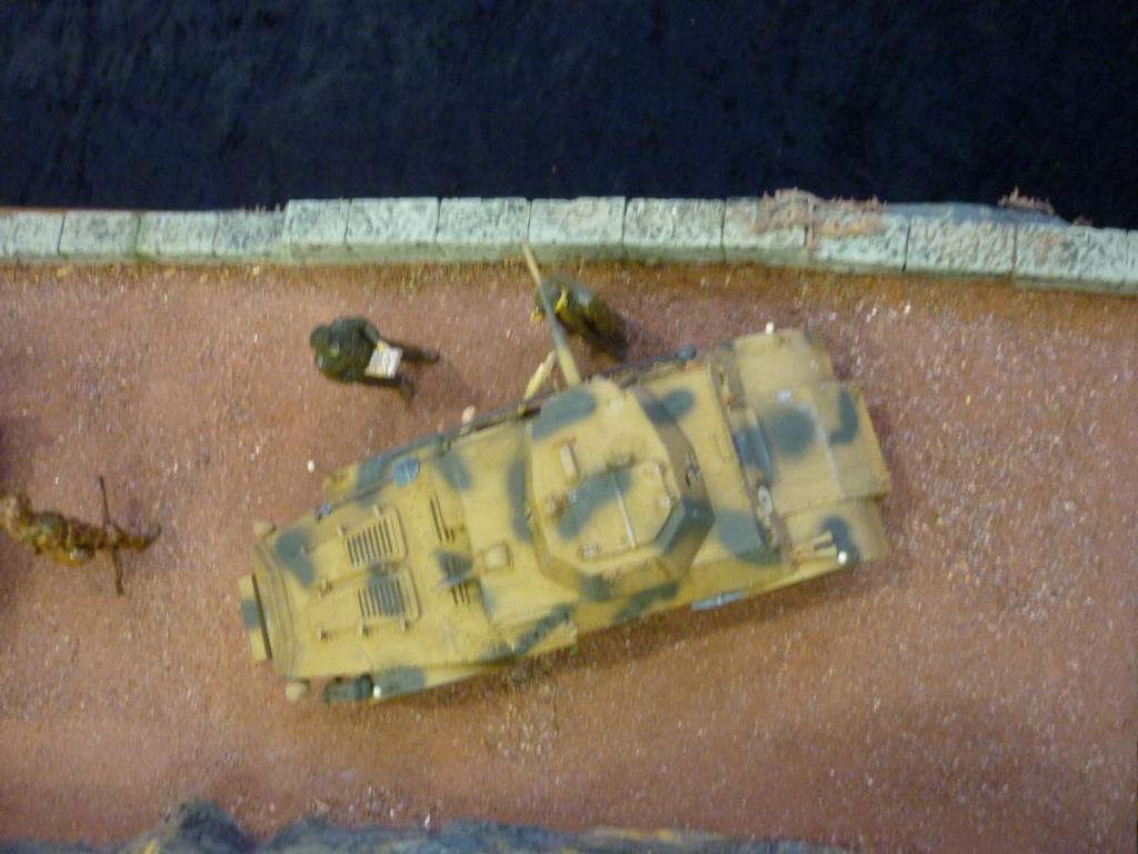 "Chasse au partisan - Yougoslavie 1943 ""Prinz Eugen"" - Autoblinda Ab 43 italeri + Sd.Kfz 7/1 2cm Flakvierling 38 +  6 personnages Alpine 1/35 - Page 7 P1100119"