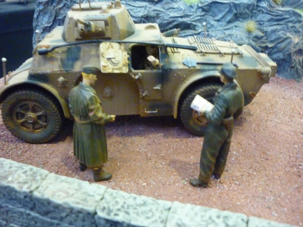 "Chasse au partisan - Yougoslavie 1943 ""Prinz Eugen"" - Autoblinda Ab 43 italeri + Sd.Kfz 7/1 2cm Flakvierling 38 +  6 personnages Alpine 1/35 - Page 7 P1100120"