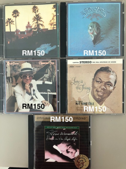 Used CDs For Sale- Audiophile Titles (Price Refreshed) Dccmof10