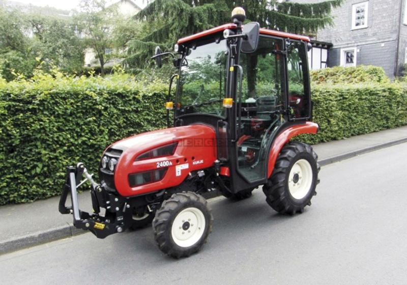 Traktori  Berger Trac Branso10