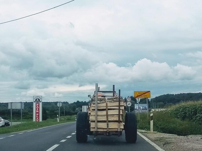 Ručni rad pogonska prikolica za šumarstvo Img_2035