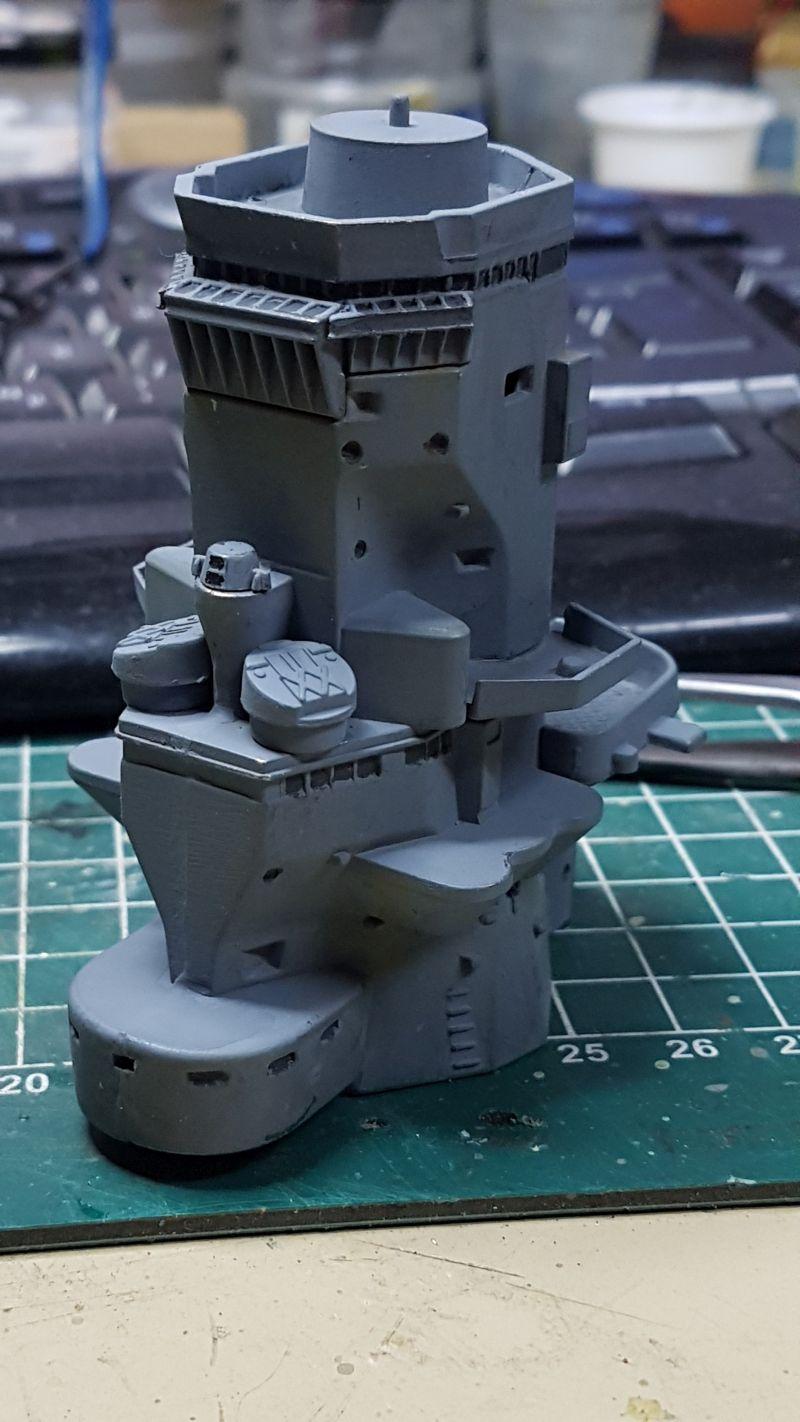 Baubericht JPN Schlachtschiff YAMATO gebaut von arrowsmodell 001_8010