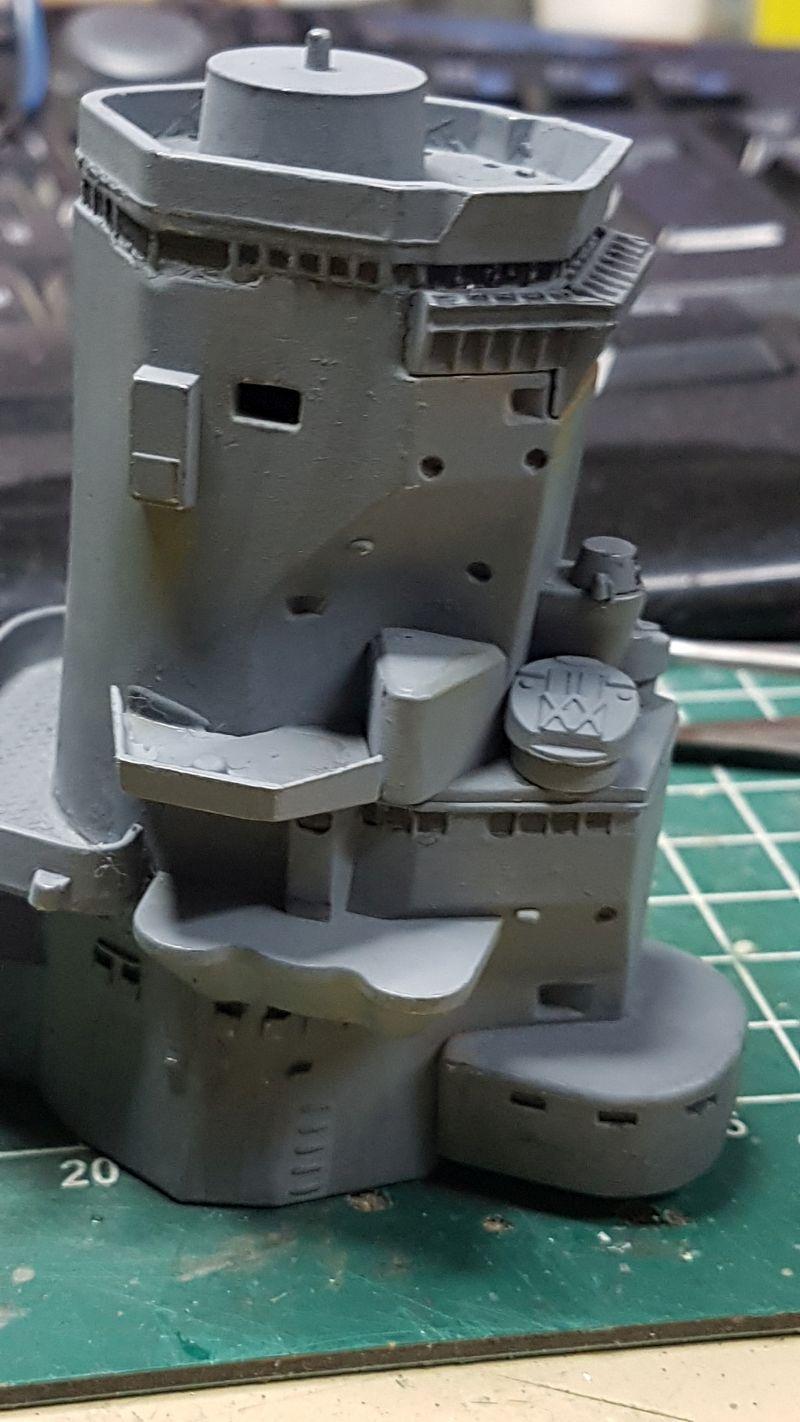 Baubericht JPN Schlachtschiff YAMATO gebaut von arrowsmodell 002_8011