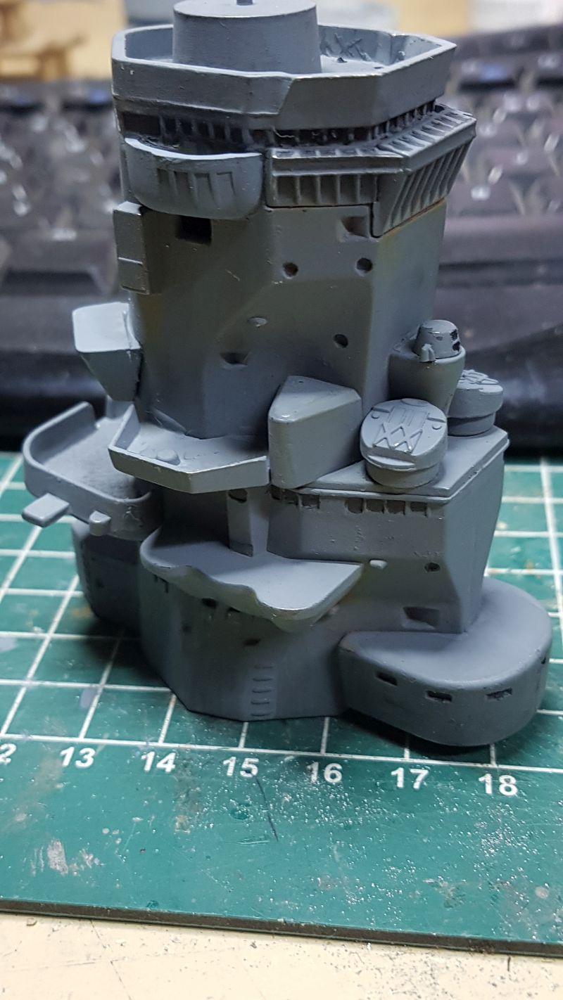 Baubericht JPN Schlachtschiff YAMATO gebaut von arrowsmodell 004_8010