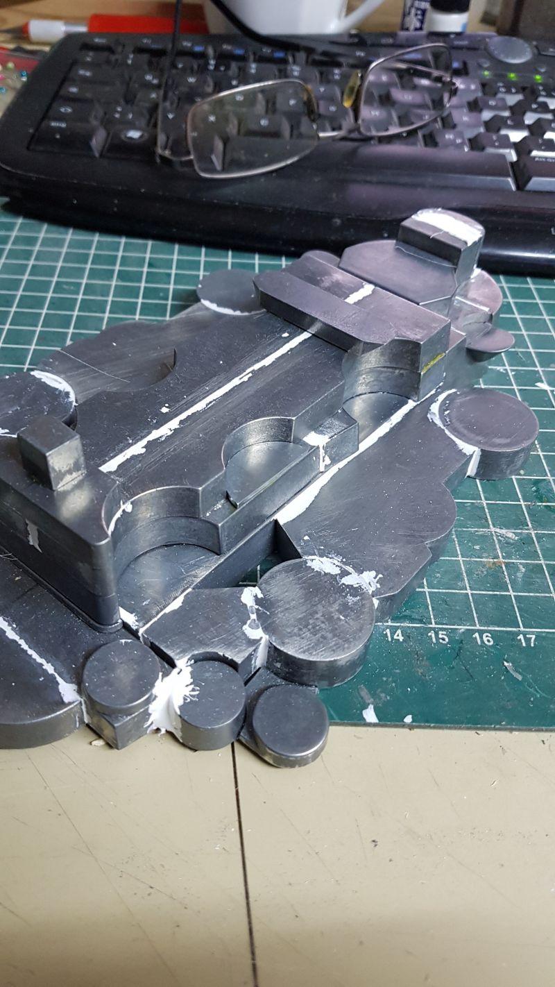 Baubericht JPN Schlachtschiff YAMATO gebaut von arrowsmodell 006_2_11