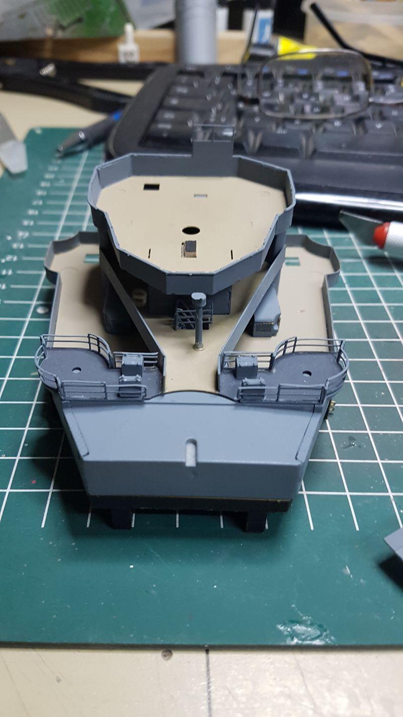 HMS HOOD 1:200 von Hachette gebaut von arrowsmodell - Seite 8 008_1_10