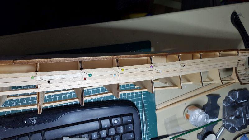 Baubericht JPN Schlachtschiff YAMATO gebaut von arrowsmodell 012_8011