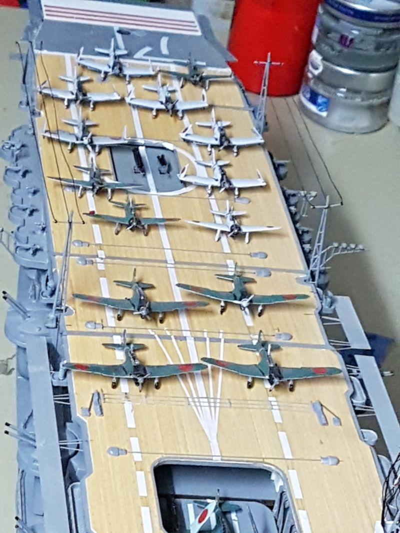JPN Flugzeugträger AKAGI1:250 von DE AGOSTINI gebaut von Arrowsmodell - Seite 9 20191011