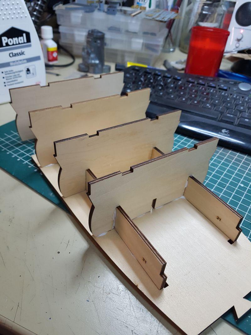 Baubericht JPN Schlachtschiff YAMATO gebaut von arrowsmodell 20191016
