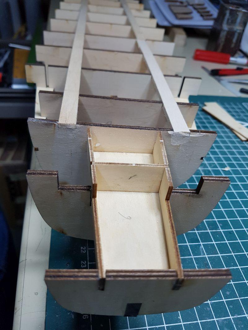 Baubericht JPN Schlachtschiff YAMATO gebaut von arrowsmodell 20191020