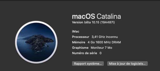 macOS Catalina 10.15 Developper Beta - Page 3 19a48710