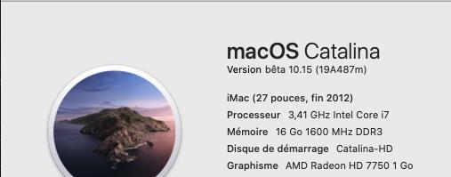 macOS Catalina 10.15 Developper Beta - Page 3 19a48711
