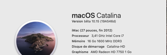 macOS Catalina 10.15 Developper Beta - Page 5 19a54610