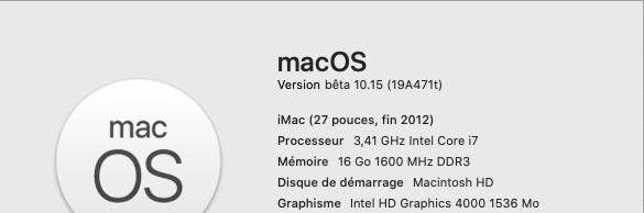 macOS Catalina 10.15 Developper Beta - Page 2 Catali10